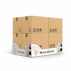Cache palette en carton