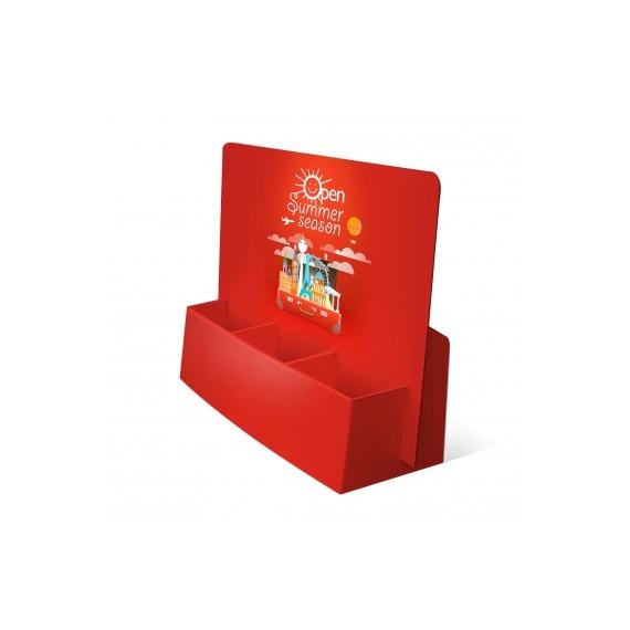 Porte flyer carton 3 cases
