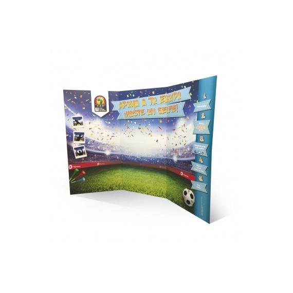 Stand parapluie carton 300 x 220 cm