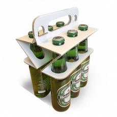 Porte bouteille en carton éco