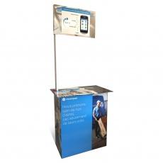 Stand en carton ou comptoir pour démontration