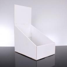 PLV de comptoir en carton 115x180x240 mm