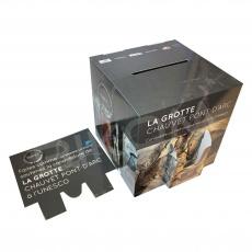 Urne en carton imprimée 28 x 28 x 28 cm
