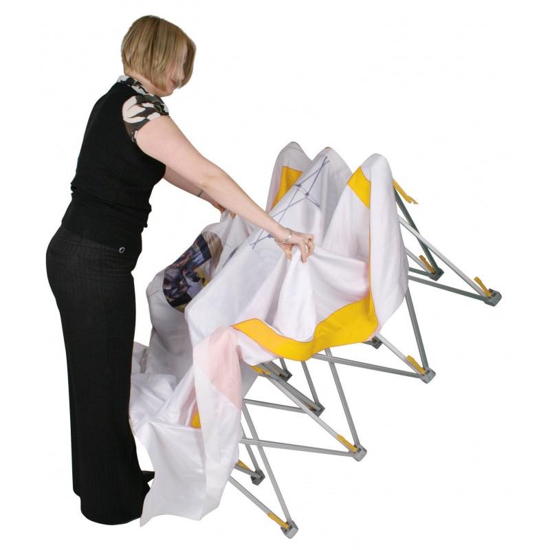 Stand parapluie tissu stand enrouleur kakemono for Stand parapluie 3x3