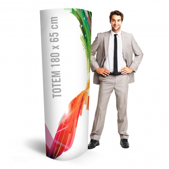 Totem carton 180 x 65 cm