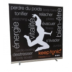 Roll-up XL 200x200 grand format