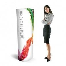 Totem carton 157 x 40 cm Eco