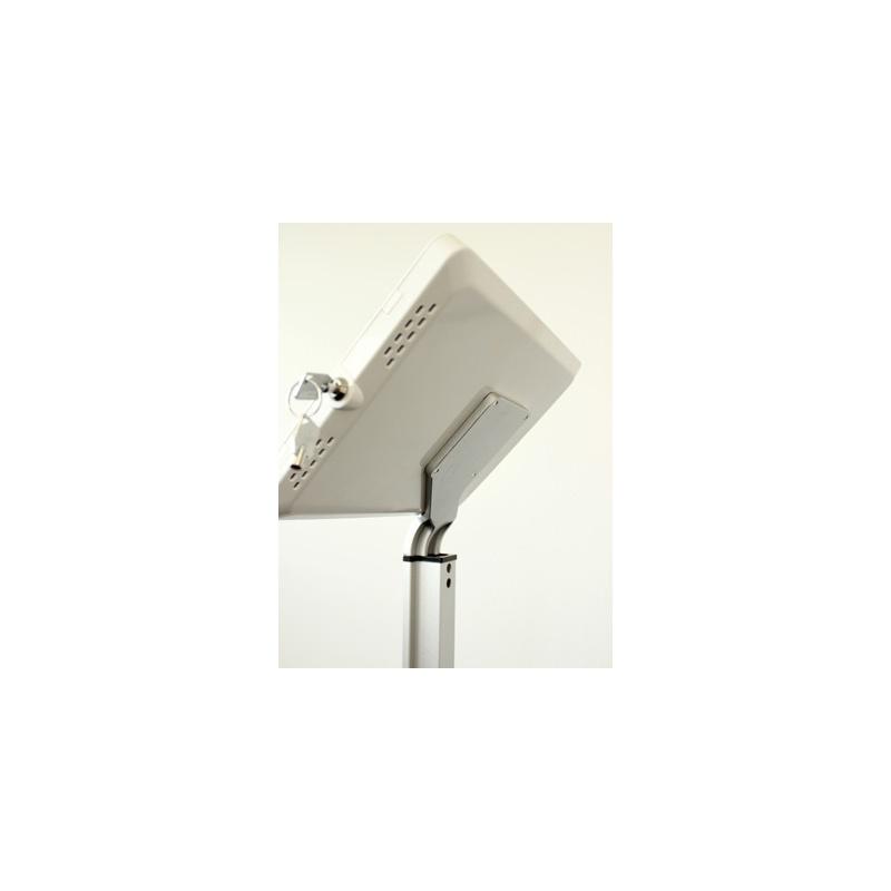 Support sur pieds pour ipad ou tablette ts 001b ou ts 001w for Porte photo sur pied