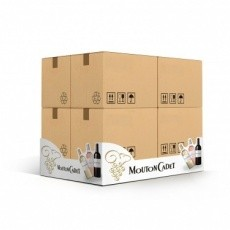 Cache palette en carton BIKOM Cache palette et jupe palette