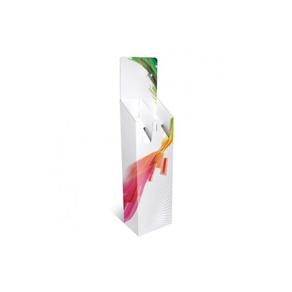 Porte catalogue carton double case