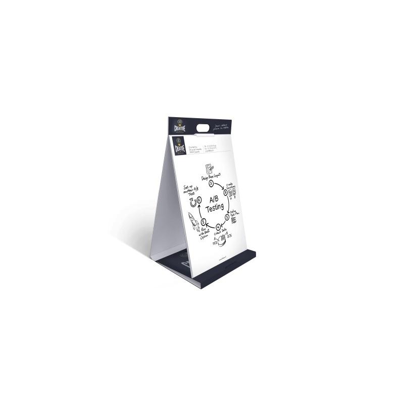 Paperboard personnalisable en carton BIKOM Chevalets en carton