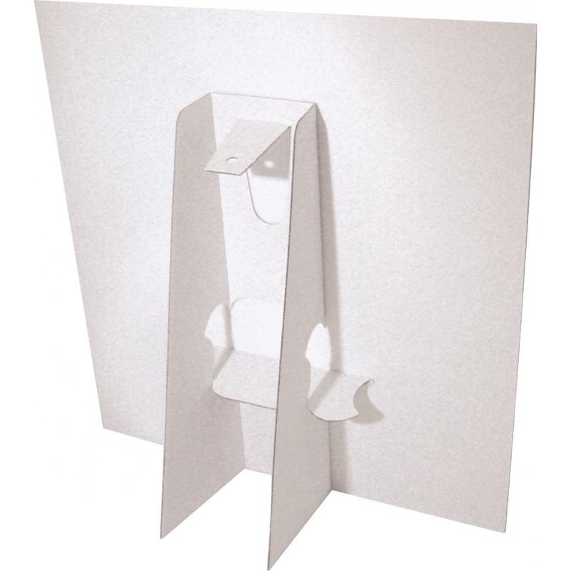 BIKOM PLV de comptoir A4 - Chevalet carton plv