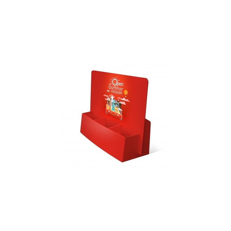 fabricant_plv_Porte flyer carton 3 cases