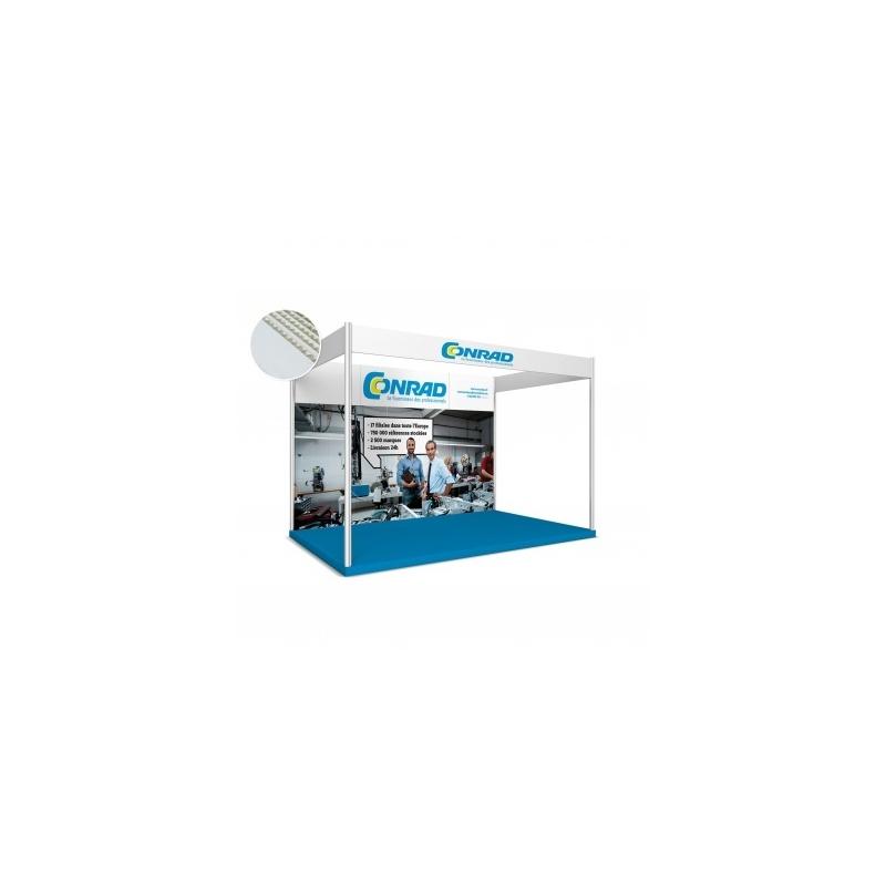 Stand modulaire en carton BIKOM Stand en carton