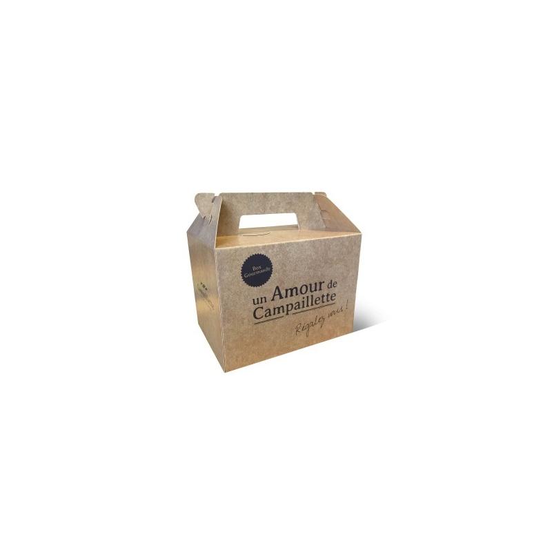 Lunch Box en carton  Porte bouteille et lunch box