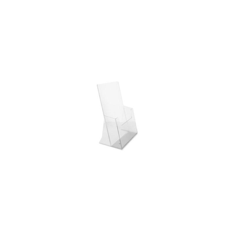 presentoir-masque-Porte-brochures A5 en plexi