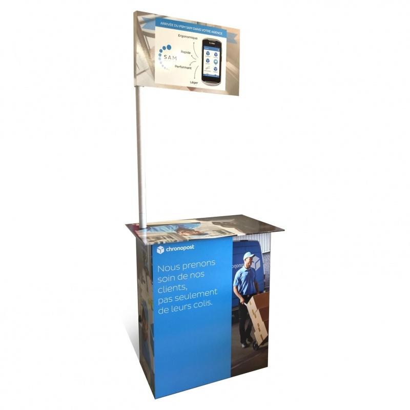 fabricant_plv_Stand en carton ou comptoir pour démontration