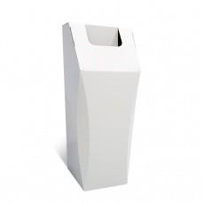 Poubelle en carton, 50L, personnalisable, ouverture large