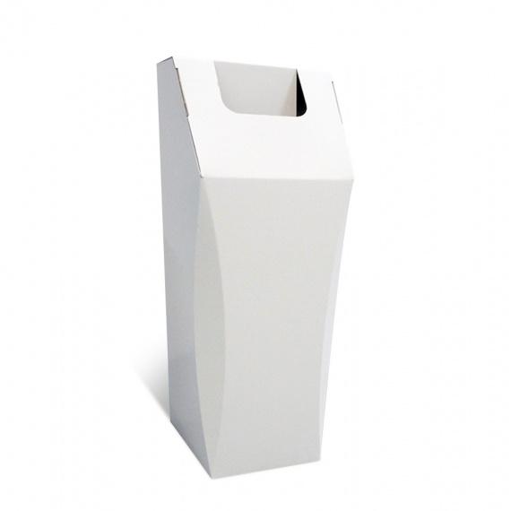 Poubelle en carton recyclé pour papier 50L