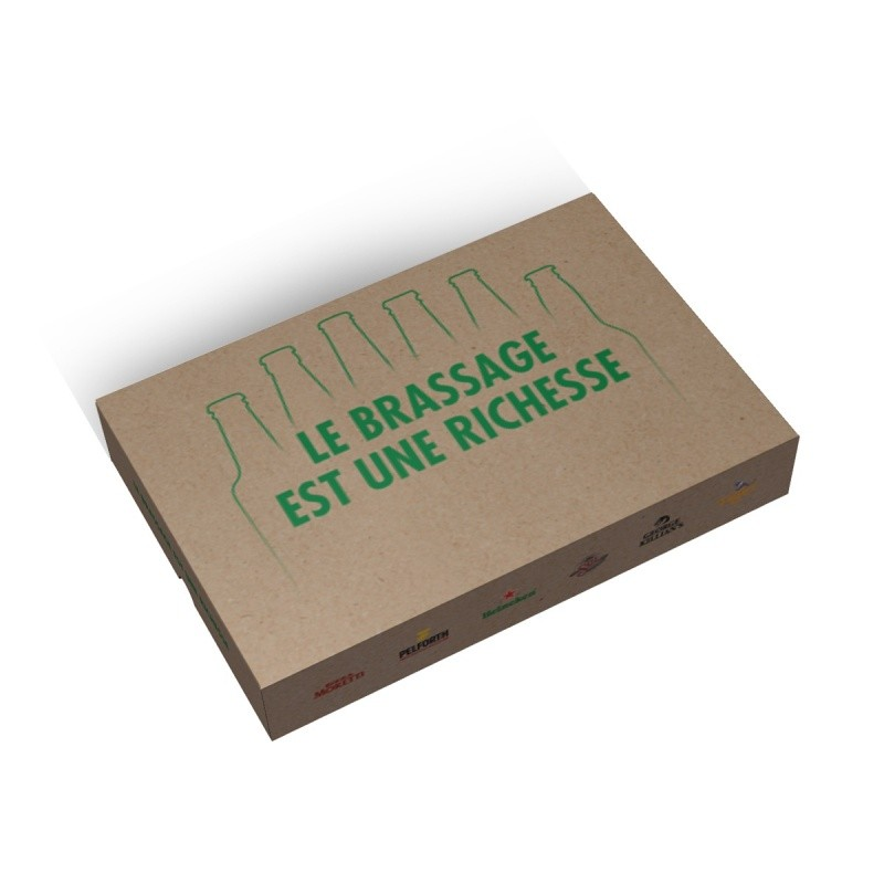 BIKOM Boite cloche en carton à personnaliser