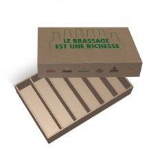 Boite cloche en carton à personnaliser