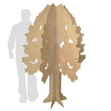 Arbre en carton personnalisable | Hauteur 200 cm