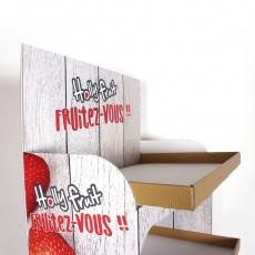 Display en carton 5 étagères
