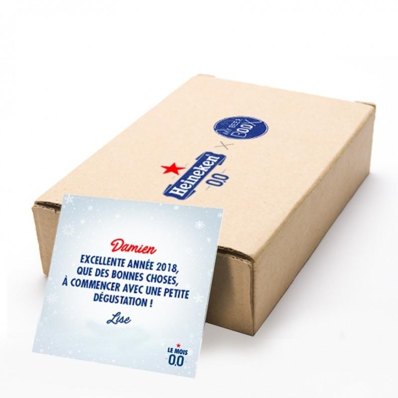 Pack personnalisé en carton kraft  Accueil