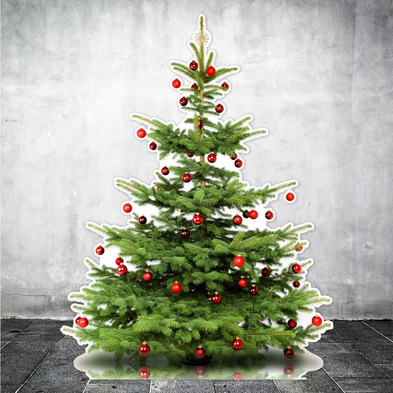 Sapin de Noël en carton BIKOM Décorations en carton