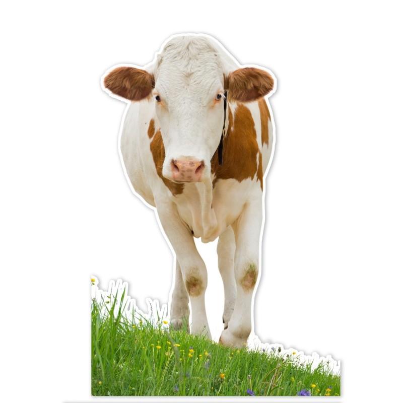 Silhouette de vache en carton BIKOM Décorations en carton