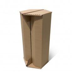 Tabouret haut en carton naturel