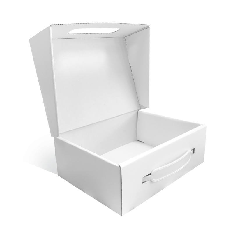 Valise de démonstration en carton sur mesure BIKOM Emballage en carton