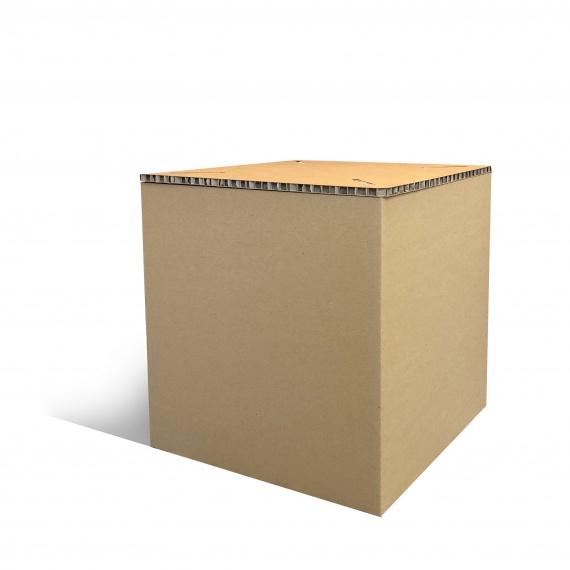 Pouf en carton recyclé