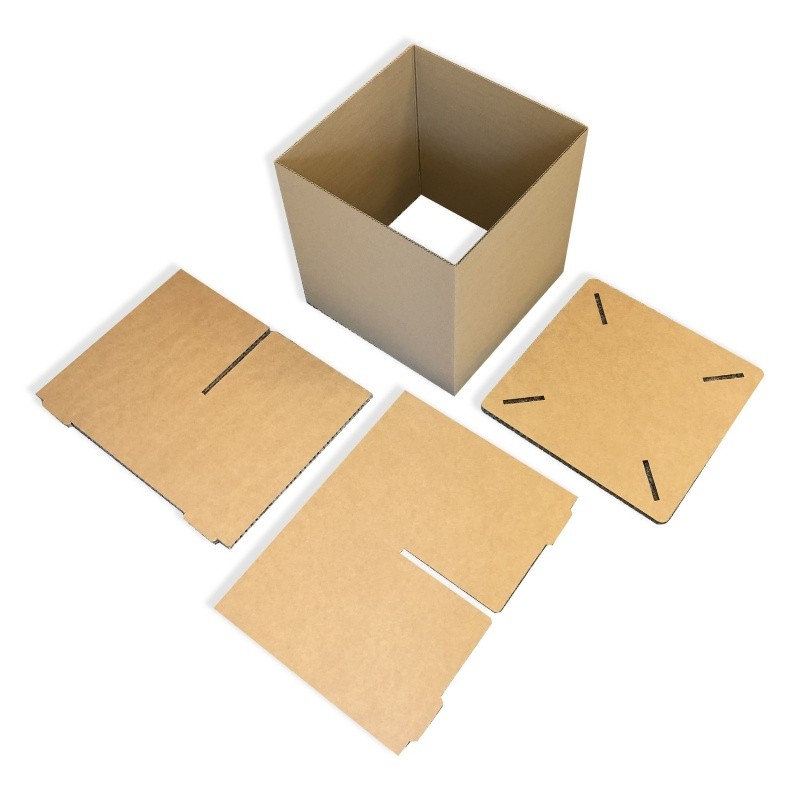 Pouf en carton recyclé BIKOM Meuble en carton