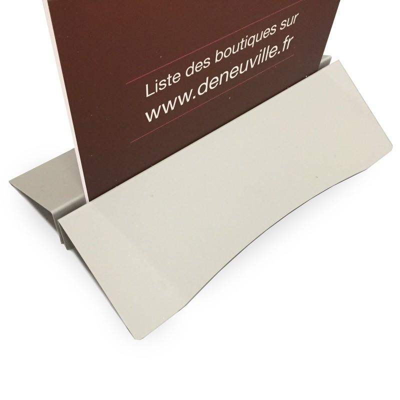Totem avec pied métallique BIKOM Équipement visuel de stand