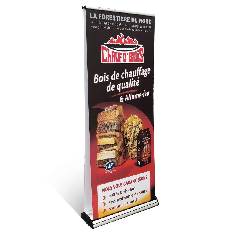 Roll up double face 85 x 200 cm  Accueil