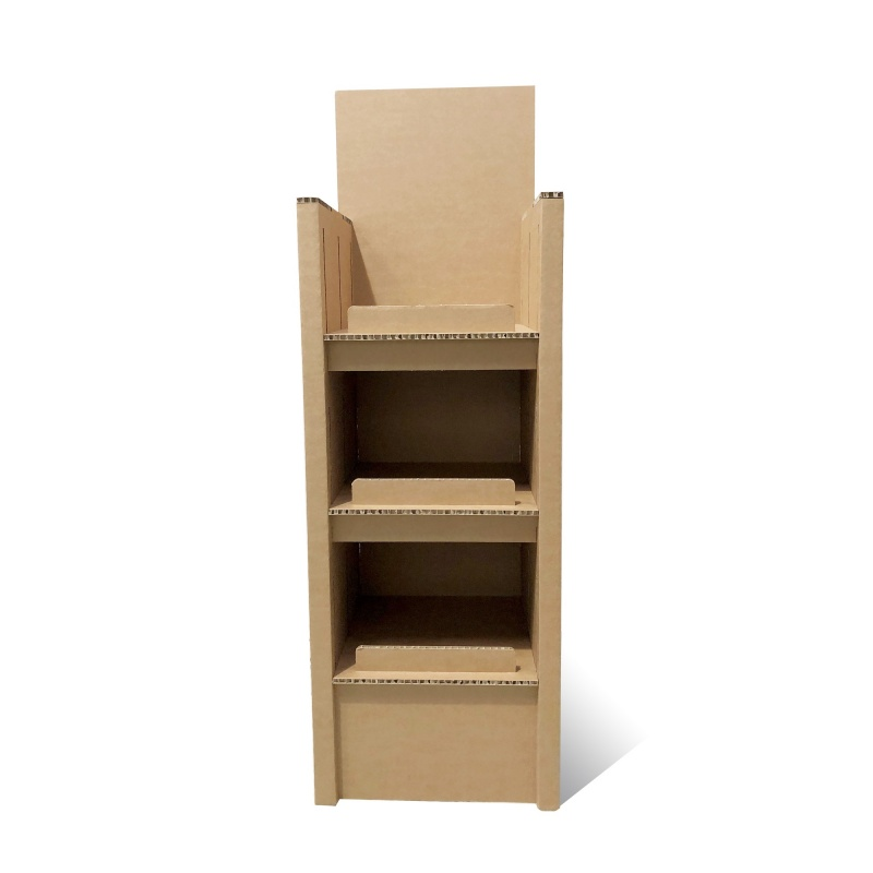 fabricant_plv_Meuble range-bouteilles vertical en carton