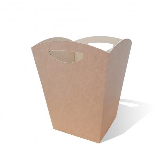 Corbeille en Carton Personnalisable BIKOM Poubelle et corbeille en carton