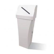 Poubelle en carton 65L Personnalisable couvercle amovible