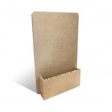 Porte catalogue en carton alvéolaire personnalisable BIKOM Porte catalogues