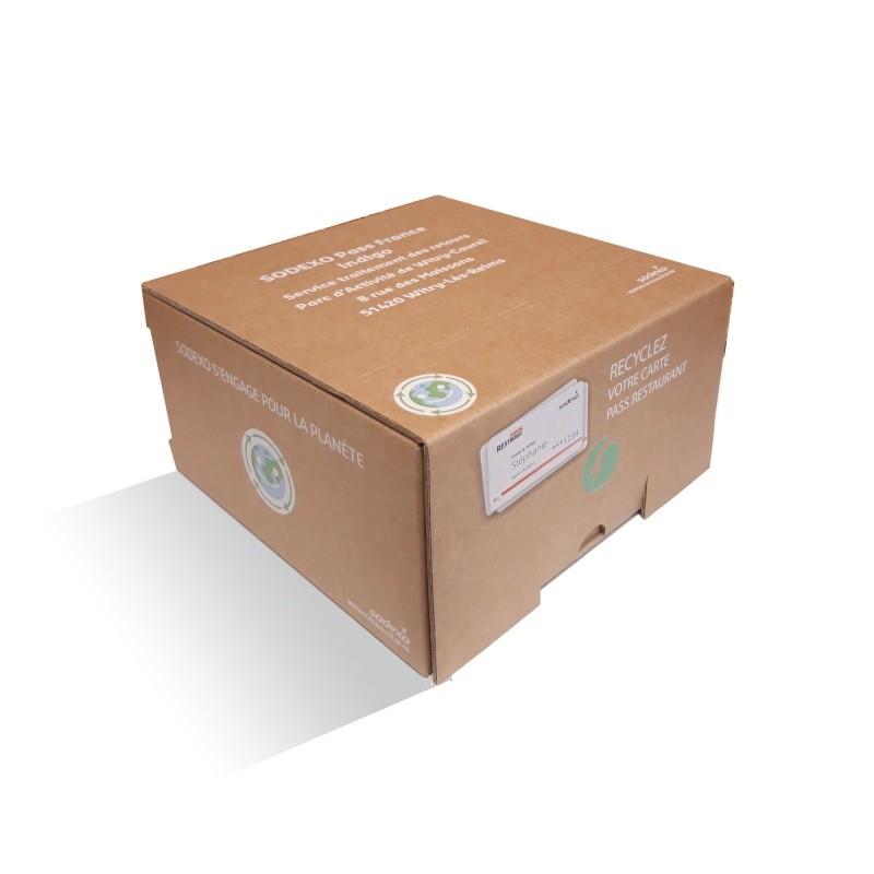 BIKOM Urne à poster en carton recyclé personnalisable