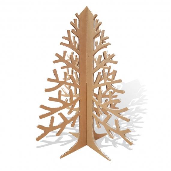 BIKOM Mini Sapin de Noël en carton modèle Branche