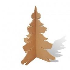 Mini Sapin de Noël en carton modèle Touffu