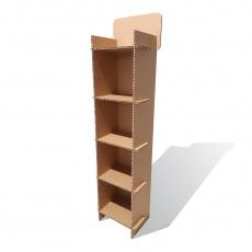 Meuble étagères en carton alvéolaire personnalisable