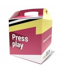 Lunch box en carton rigide