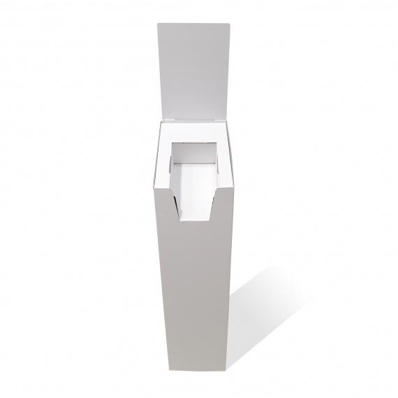 Porte document A4/A5 avec cale intérieure BIKOM Présentoirs en carton blanc personnalisables