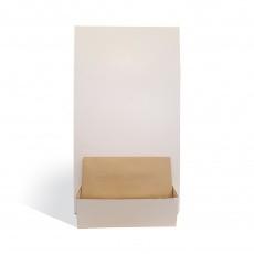 Porte catalogue de comptoir en carton