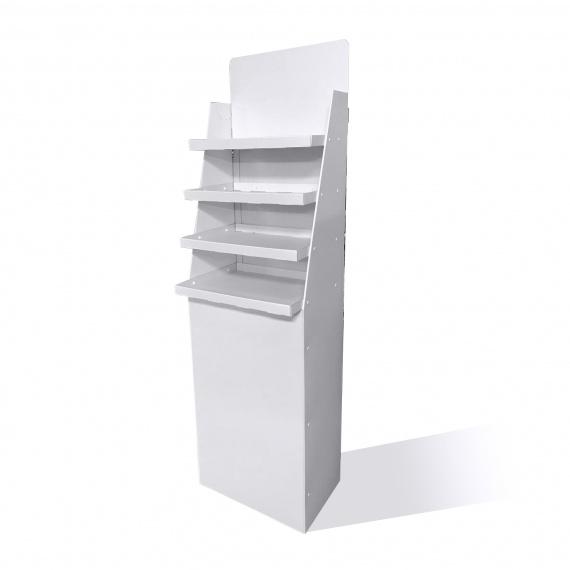meuble présentoir carton étagère