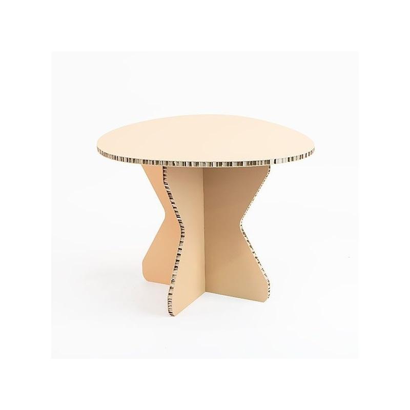 Table basse scandinave en carton BIKOM Meuble en carton