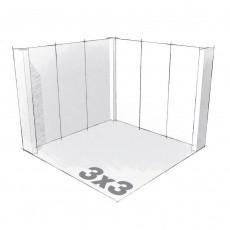 Stand 9m2 en carton recyclé
